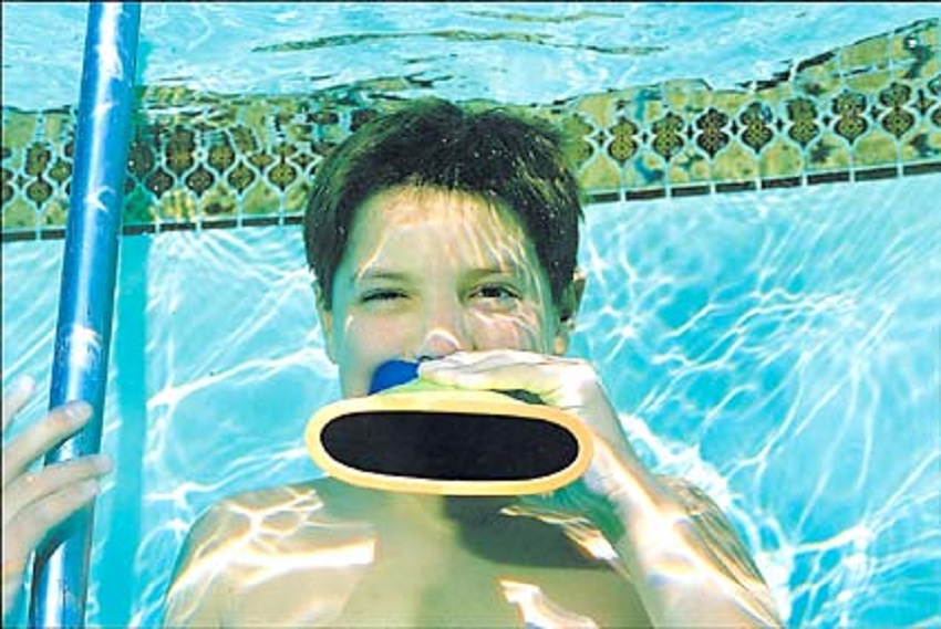 Water Talkie by 10-Year-Old Richie Stachowski
